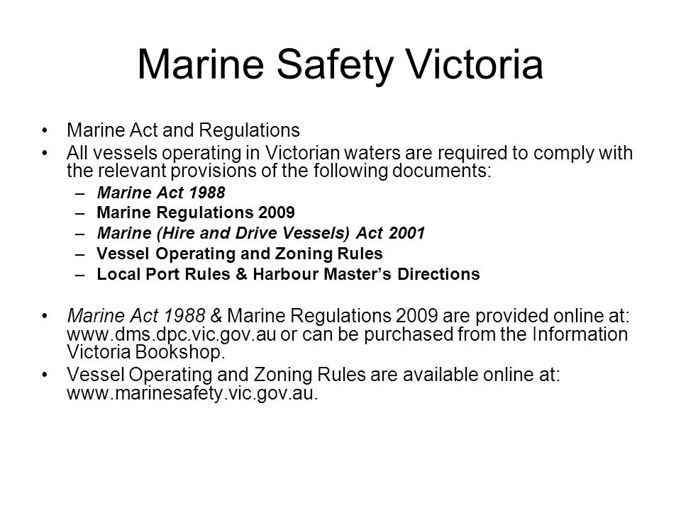 Types of licence General Boat Operator Licence –A general boat operator licence is required by any person over the age of 16 who is operating a powered recreational vessel.
