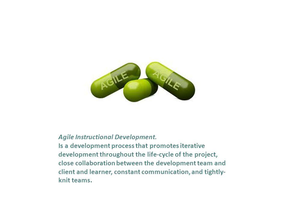 Agile Instructional Development.