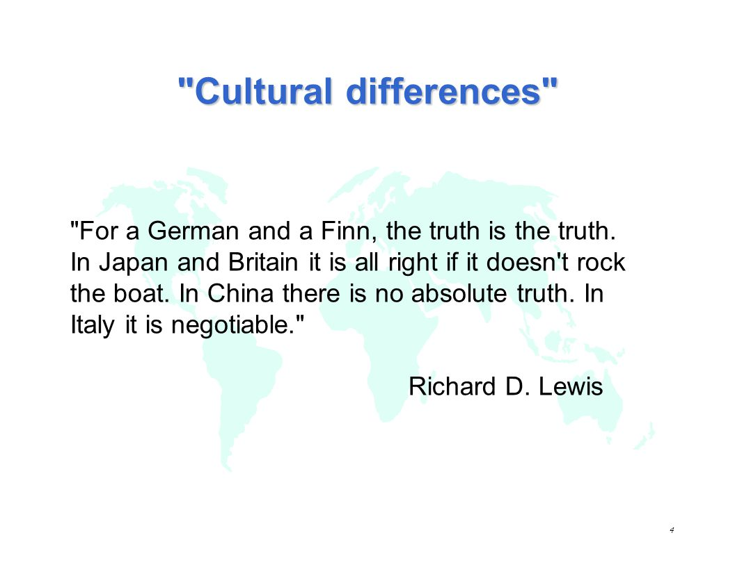 3 1 - Introduction to culture & cultural differences