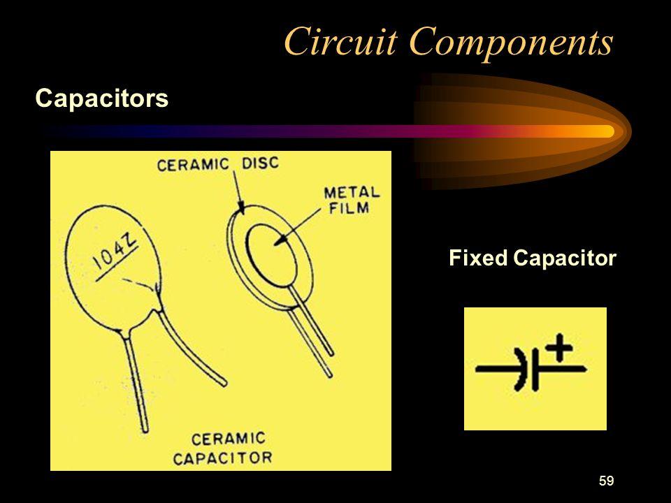 59 Circuit Components Capacitors Fixed Capacitor
