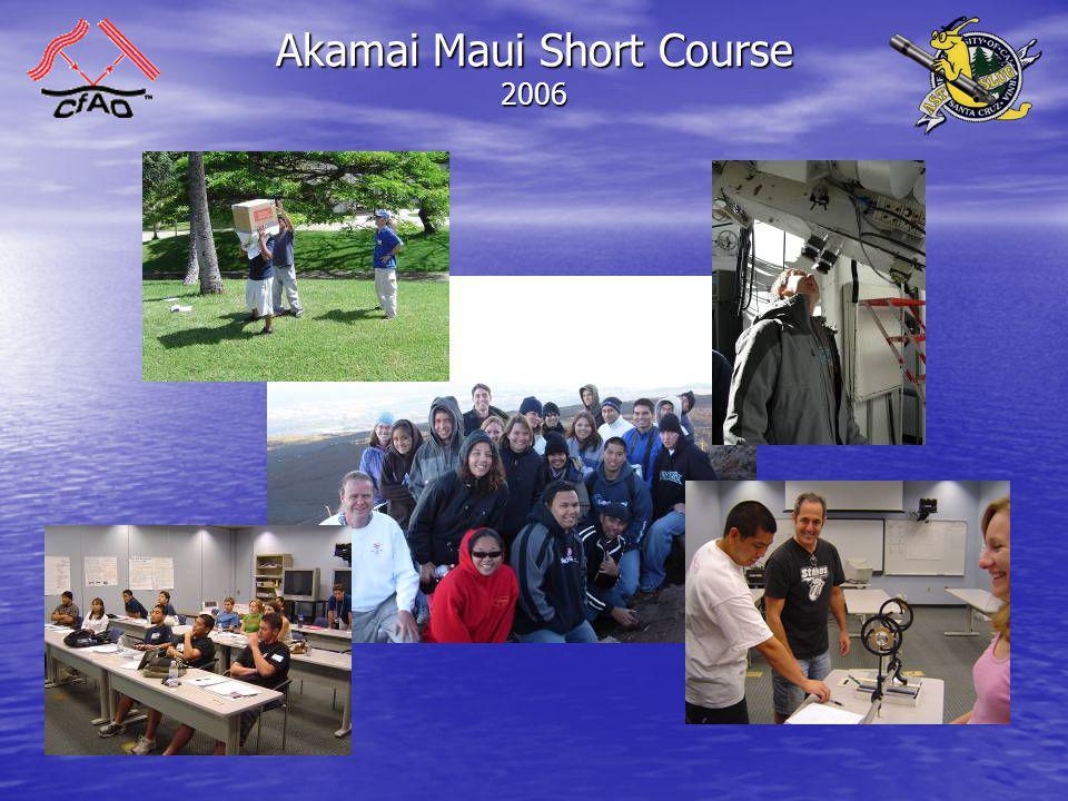 Akamai Maui Short Course 2006