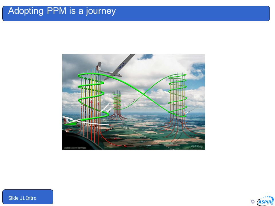 © Slide 11 Intro Adopting PPM is a journey
