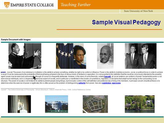 Sample Visual Pedagogy
