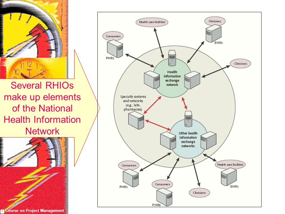 Course on Project Management Several RHIOs make up elements of the National Health Information Network