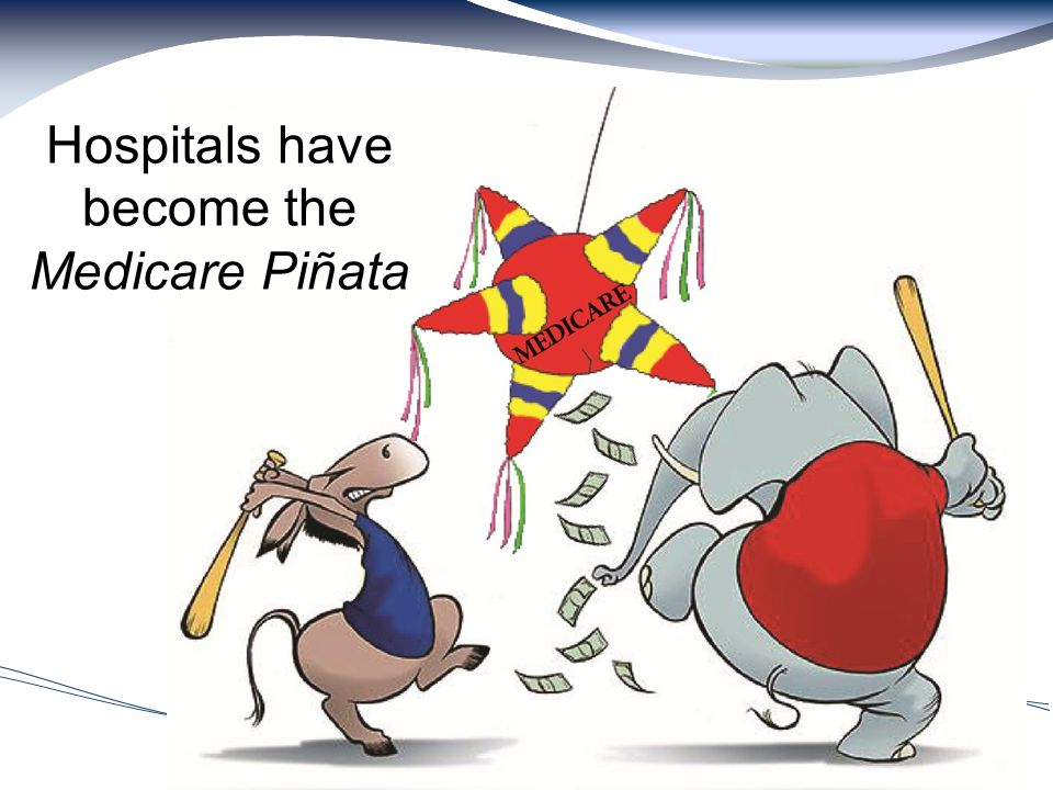 14 Hospitals have become the Medicare Piñata