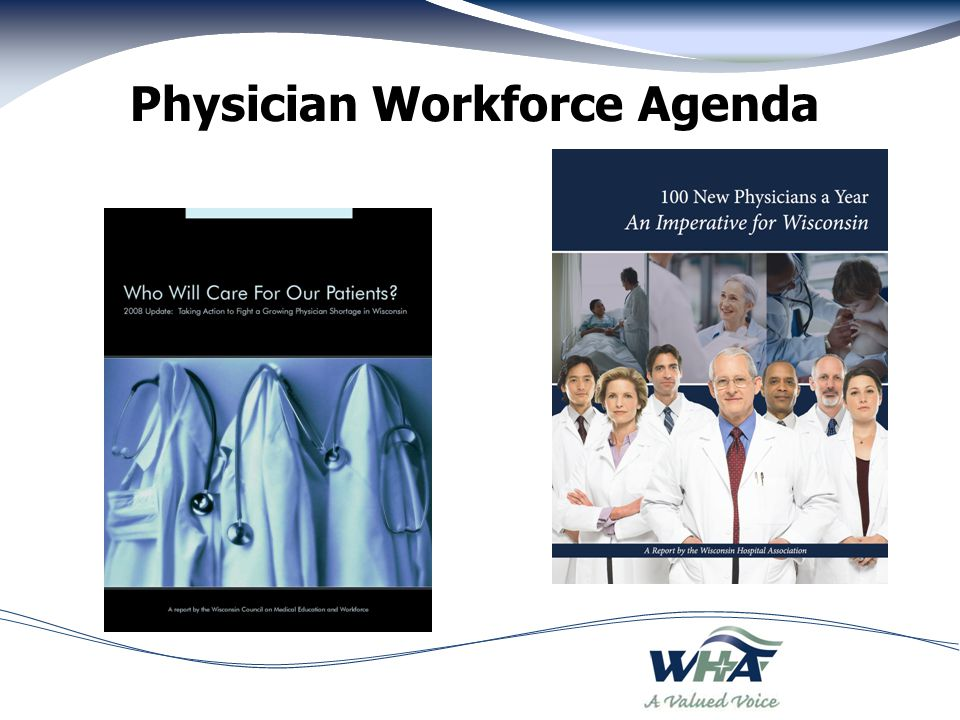 Physician Workforce Agenda