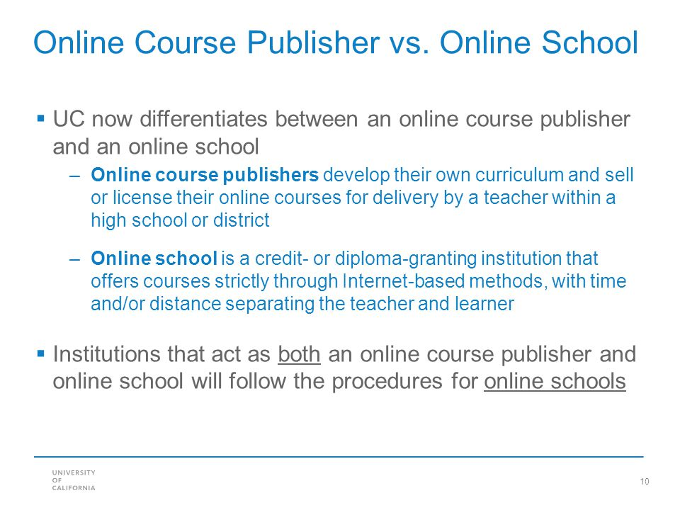10 Online Course Publisher vs.