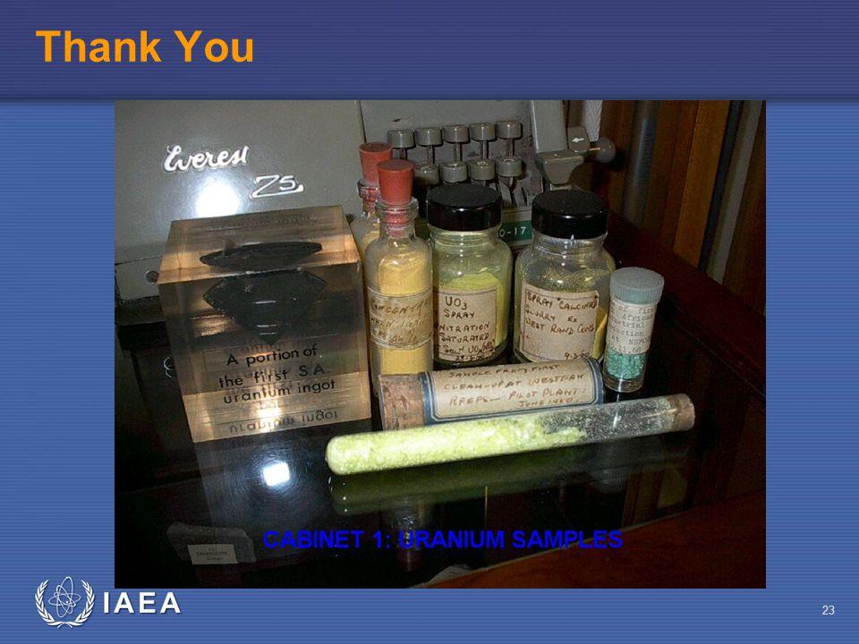 IAEA 23 Thank You
