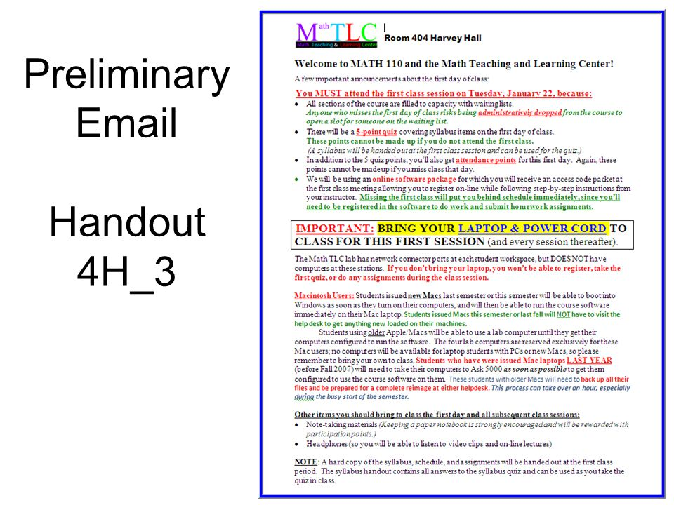 Preliminary Email Handout 4H_3