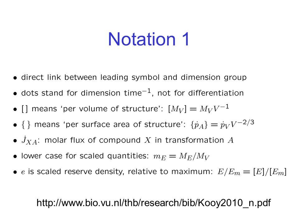 Notation 1 http://www.bio.vu.nl/thb/research/bib/Kooy2010_n.pdf
