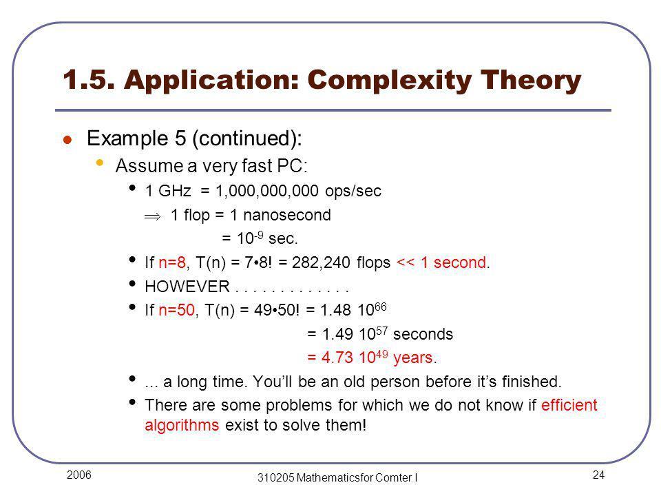 24 2006 310205 Mathematicsfor Comter I 1.5.