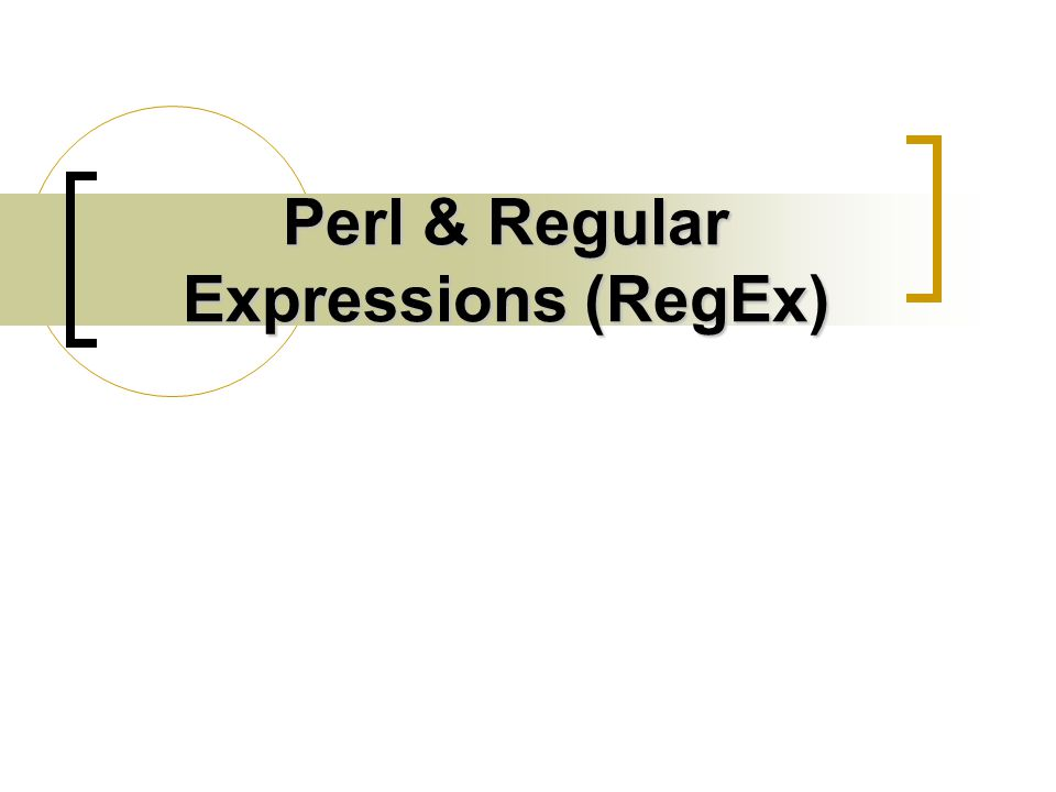 Regular Expressions A regular expression (regex for short) is a way to describe a text pattern to search for within a string.