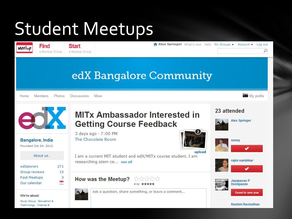 Student Meetups