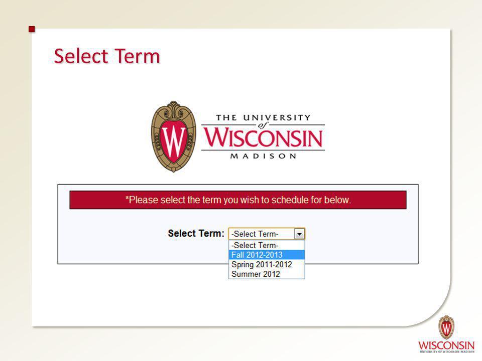 Select Term