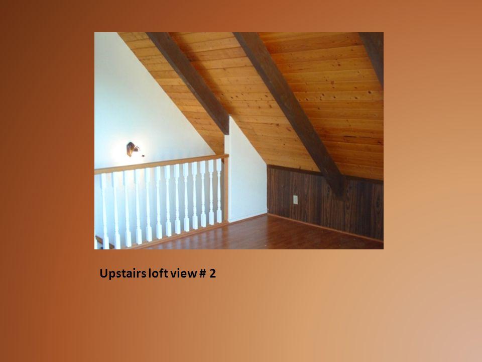 Upstairs loft view # 2