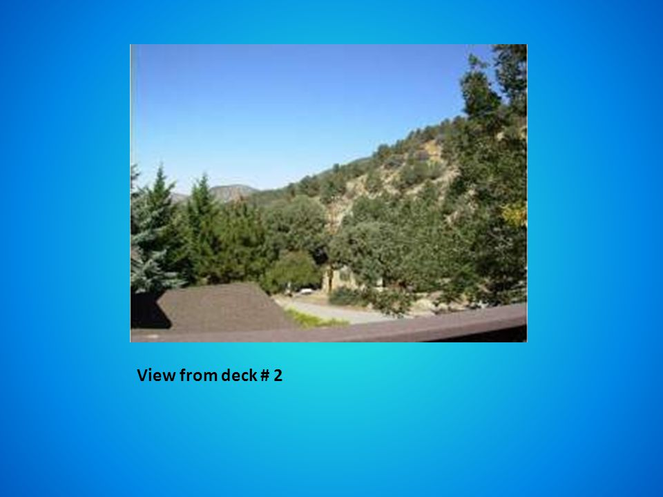 View from deck # 2