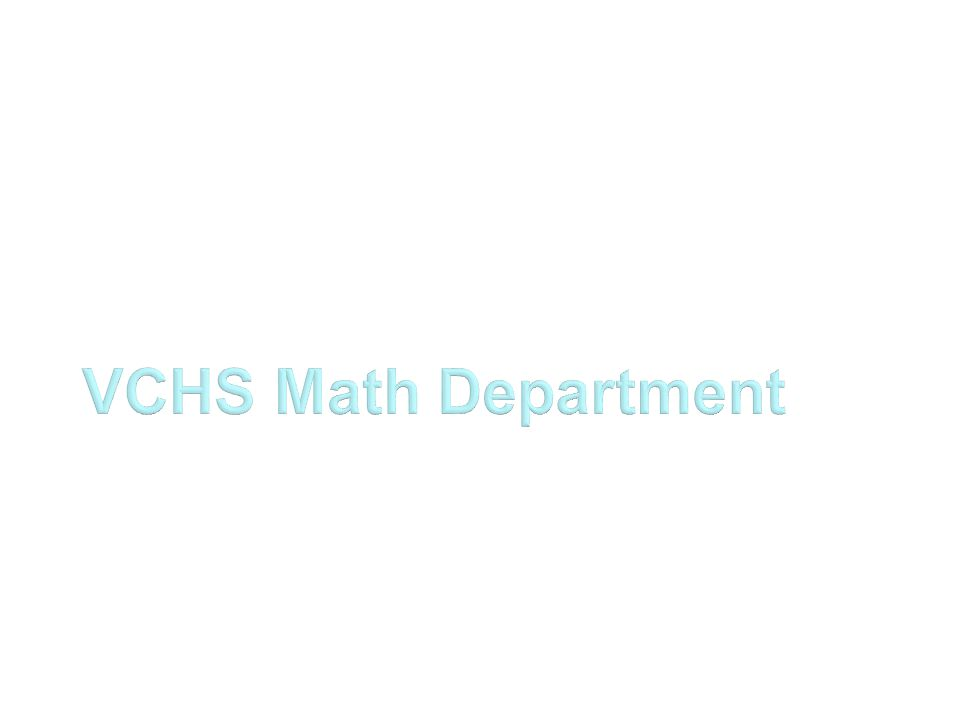 In order to graduate high school in New York State… You MUST earn at least 3 credits in Math –Algebra –Geometry –Mathematics in Action –Algebra II and Trigonometry