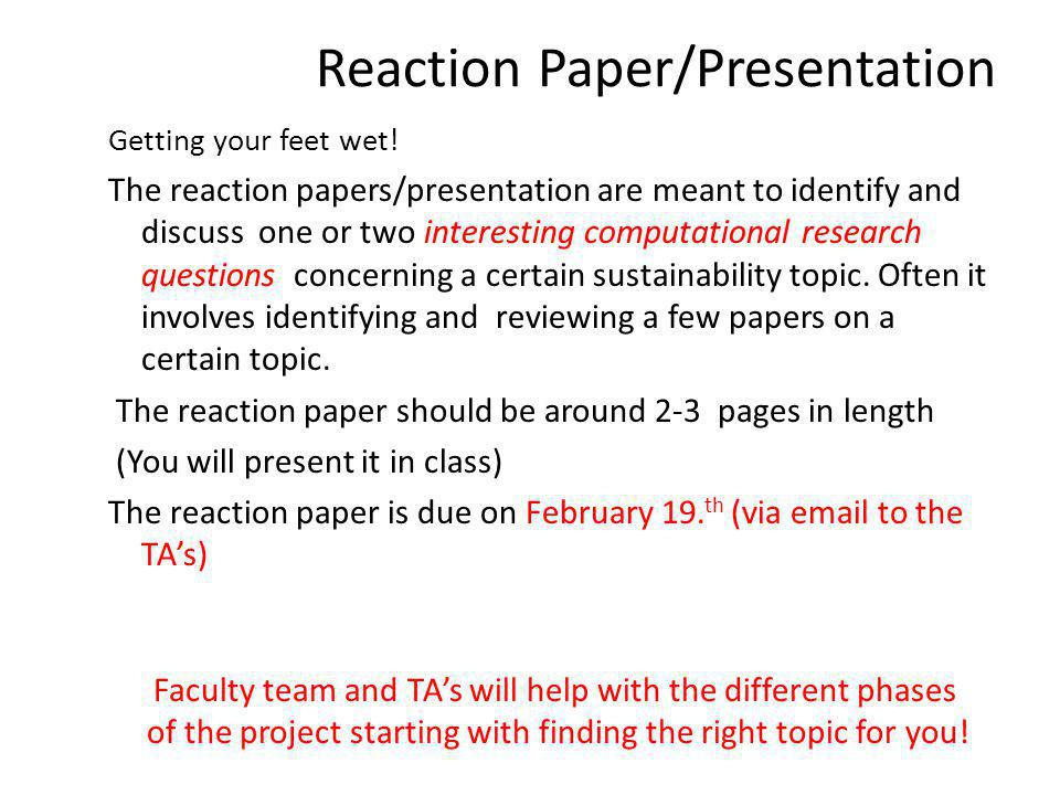 Project The selection of the topic and scope of the final project is mainly up to the student(s).