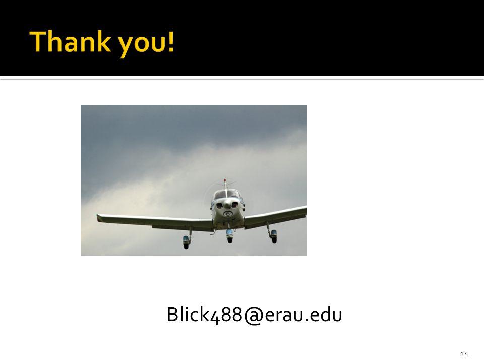 14 Blick488@erau.edu