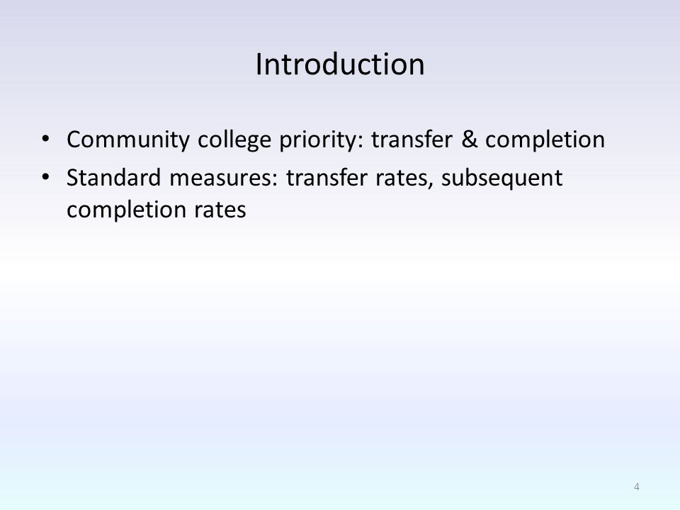 Limitations NSC data limitations Manual coding of transferability Courses coded as no credit due to lack of information Credit applicable to degree requirements Transferability changes more frequently than we can update it 25