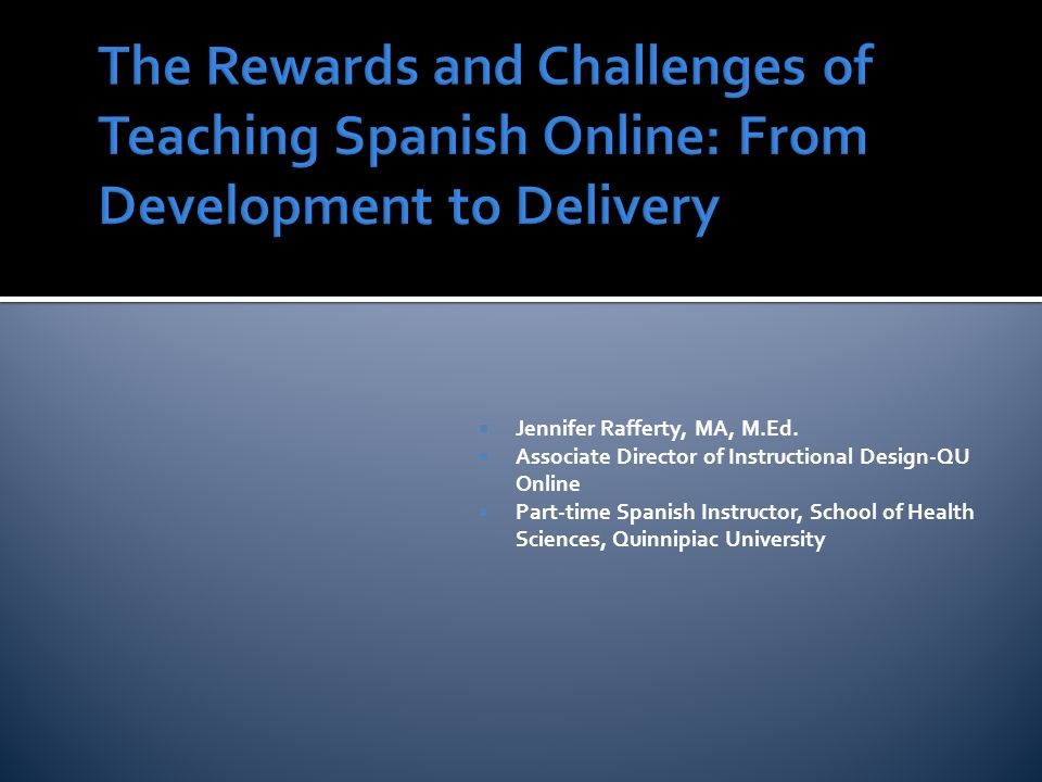 Teacher to Student: Questions about the course forum Bi-weekly asynchronous speaking and listening quiz Individual written feedback on written dialogue Virtual tutorials as needed