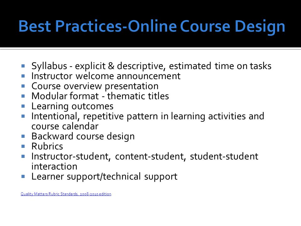 The online experience can develop important life skills: technology for academic and professional use self regulation collaboration Student and faculty feedback Connecting SLA and online learning Lack of resources forces us to think outside the box Contribution to culturally competent health care