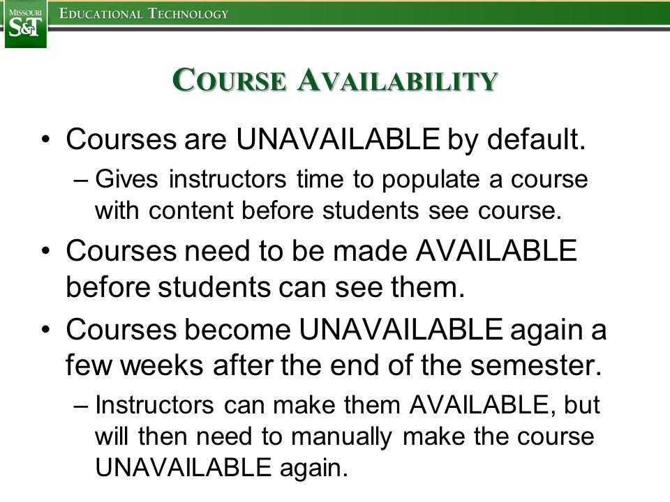 C USTOMIZING C OURSE M ENU Adding Buttons to Course Menu: Click the plus button above the course menu.