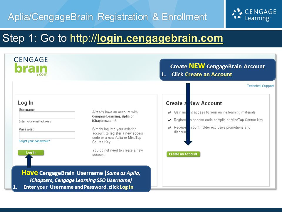 Questions and Support Questions about a CengageBrain order or purchase.