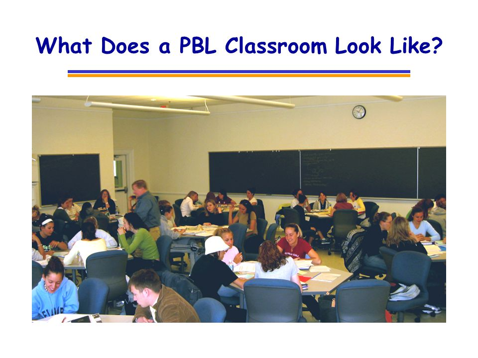 What Does a PBL Classroom Look Like