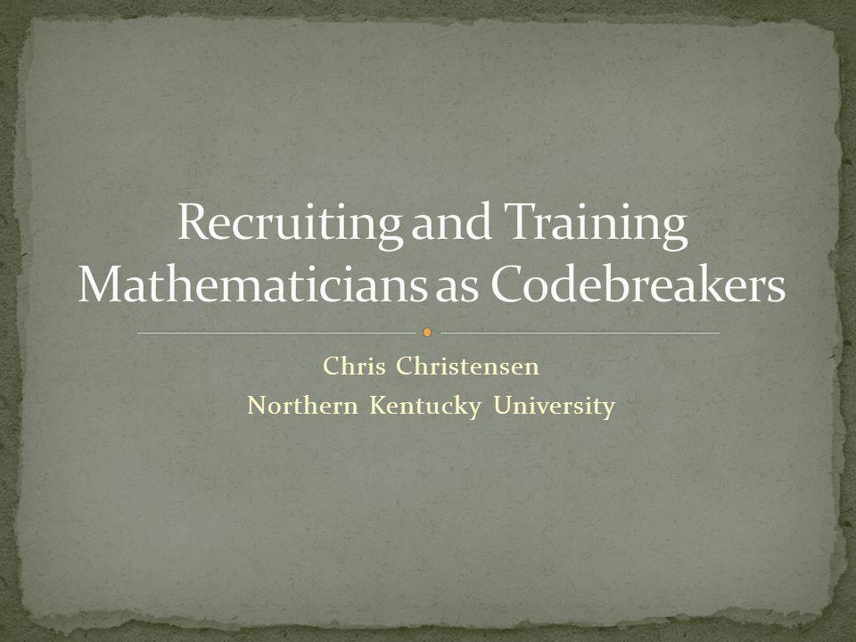 Chris Christensen Northern Kentucky University