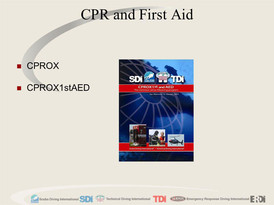 CPROX CPROX1stAED CPR and First Aid