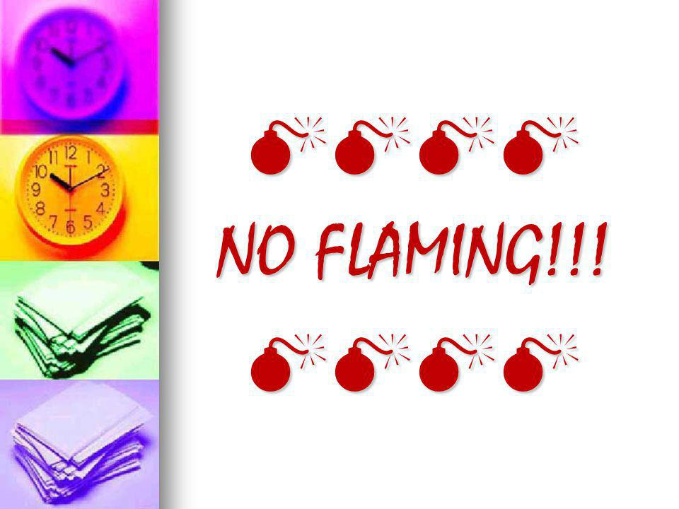 NO FLAMING!!!