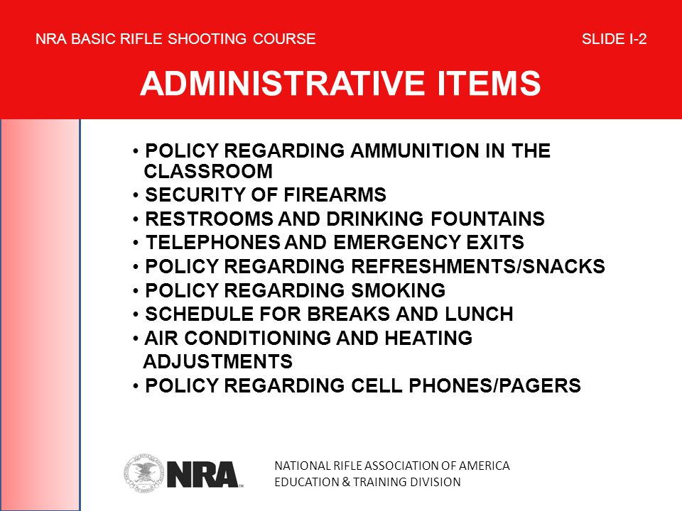 POLICY REGARDING AMMUNITION IN THE CLASSROOM SECURITY OF FIREARMS RESTROOMS AND DRINKING FOUNTAINS TELEPHONES AND EMERGENCY EXITS POLICY REGARDING REF