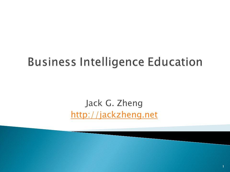 Jack G. Zheng http://jackzheng.net 1