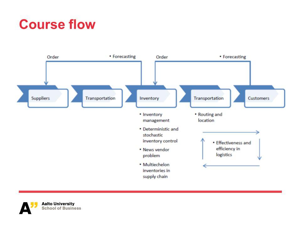 Course flow