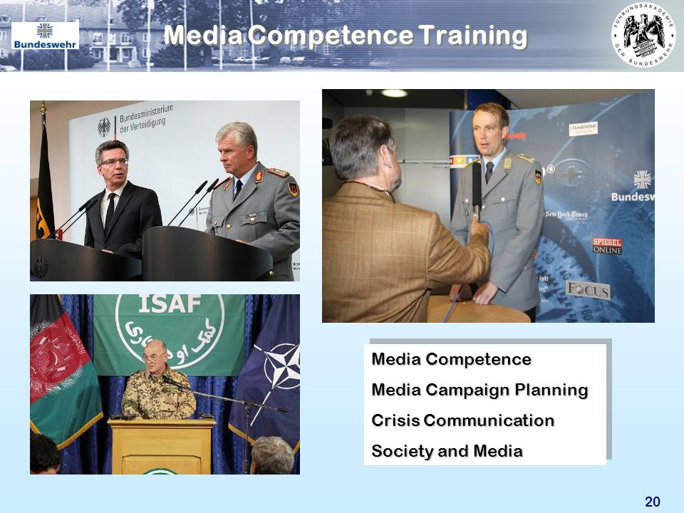 20 Media Competence Media Campaign Planning Crisis Communication Society and Media Media Competence Media Campaign Planning Crisis Communication Socie