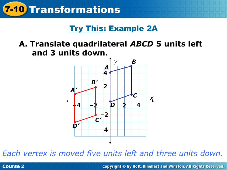 Try This: Example 2A Insert Lesson Title Here A.