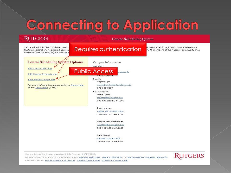 Requires authentication Public Access