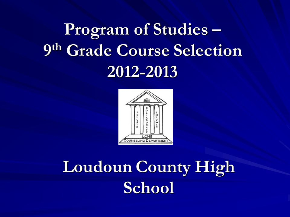 Course Selection Process Course Selection Changes: Please be in contact with the Middle School to make any changes.