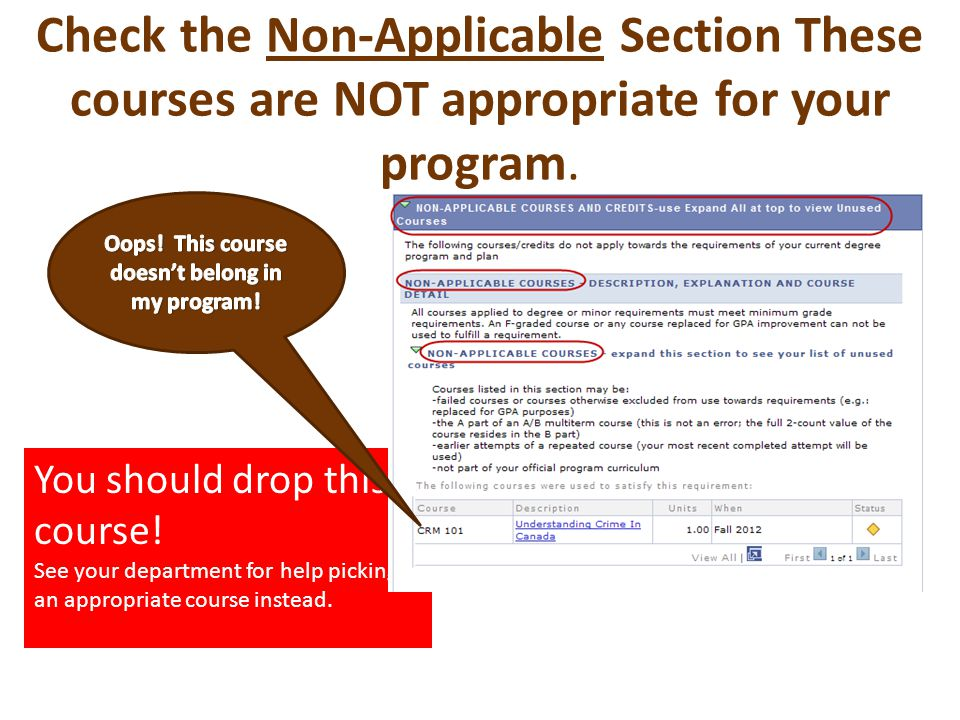 You should drop this course. See your department for help picking an appropriate course instead.