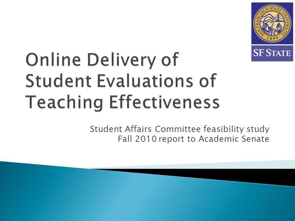 TermProject activities Fall 2000SF State began listing fully online classes in Class Schedule.