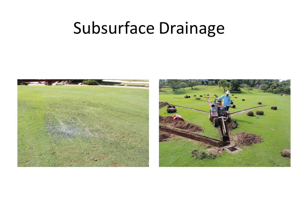 Subsurface Drainage