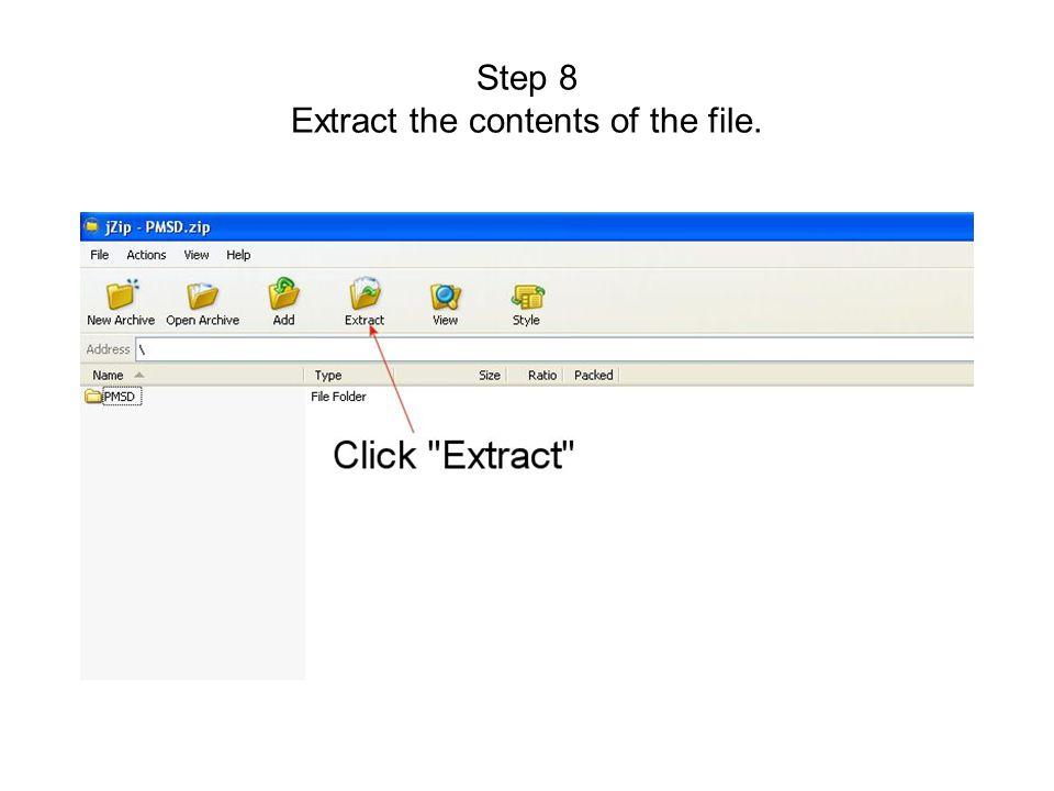 Step 9 Click New Folder
