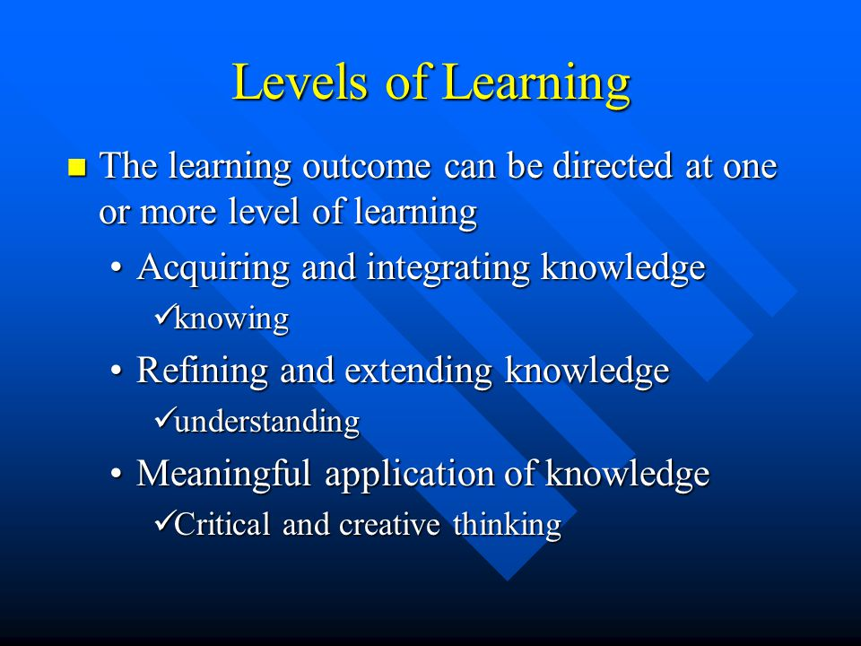 Formative Assessment: Formative Assessment: –Assessment activities that contribute to learning as well as indicating the degree of learning –Used by s