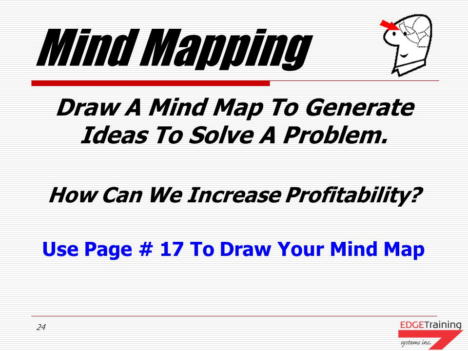 23 Mind Mapping How Can We Increase Profitability.