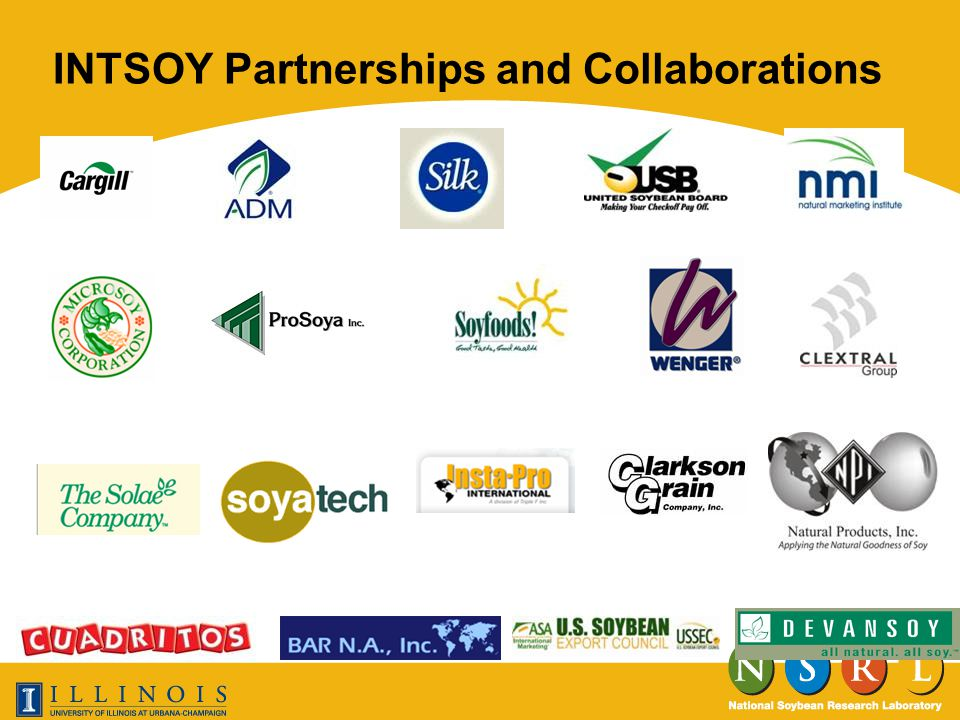 INTSOY Partnerships and Collaborations