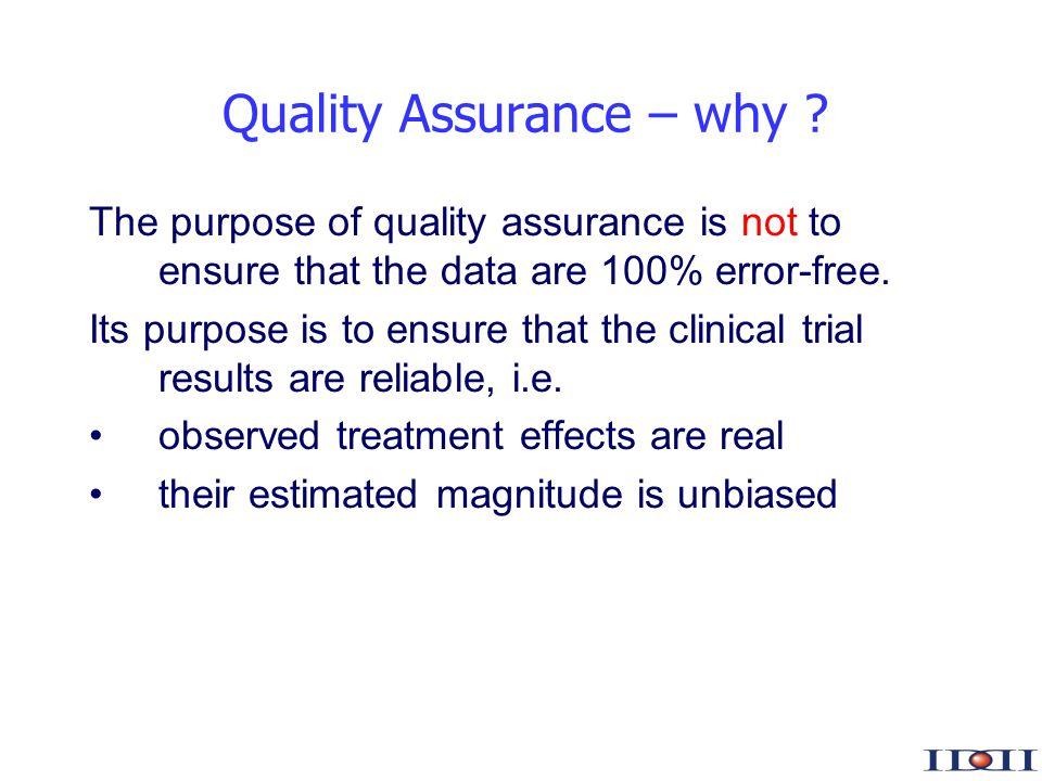 www.iddi.com Quality Assurance – why .