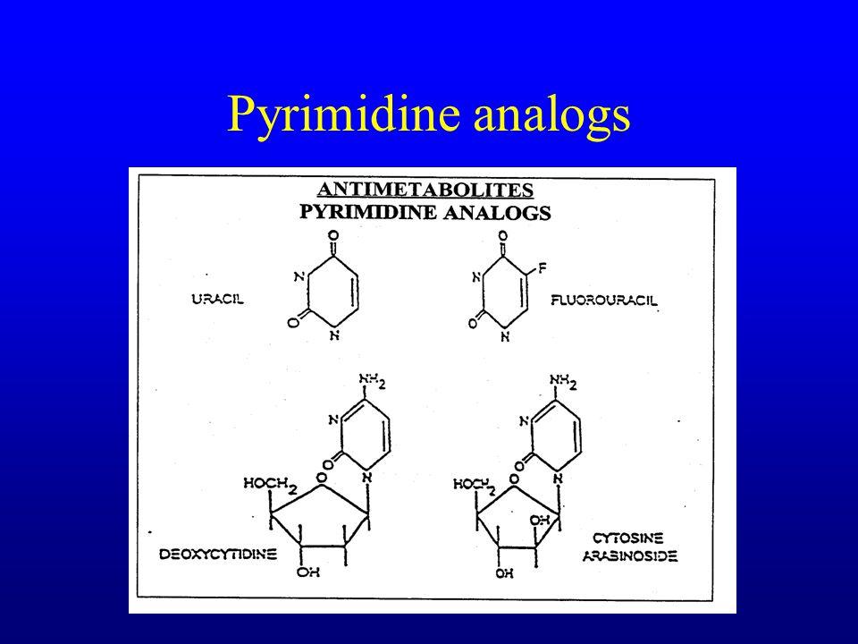 Pyrimidine analogs