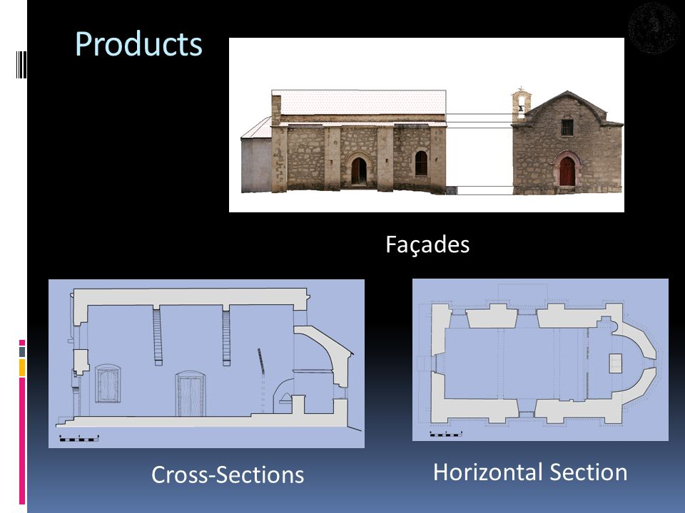Products Façades Horizontal Section Cross-Sections