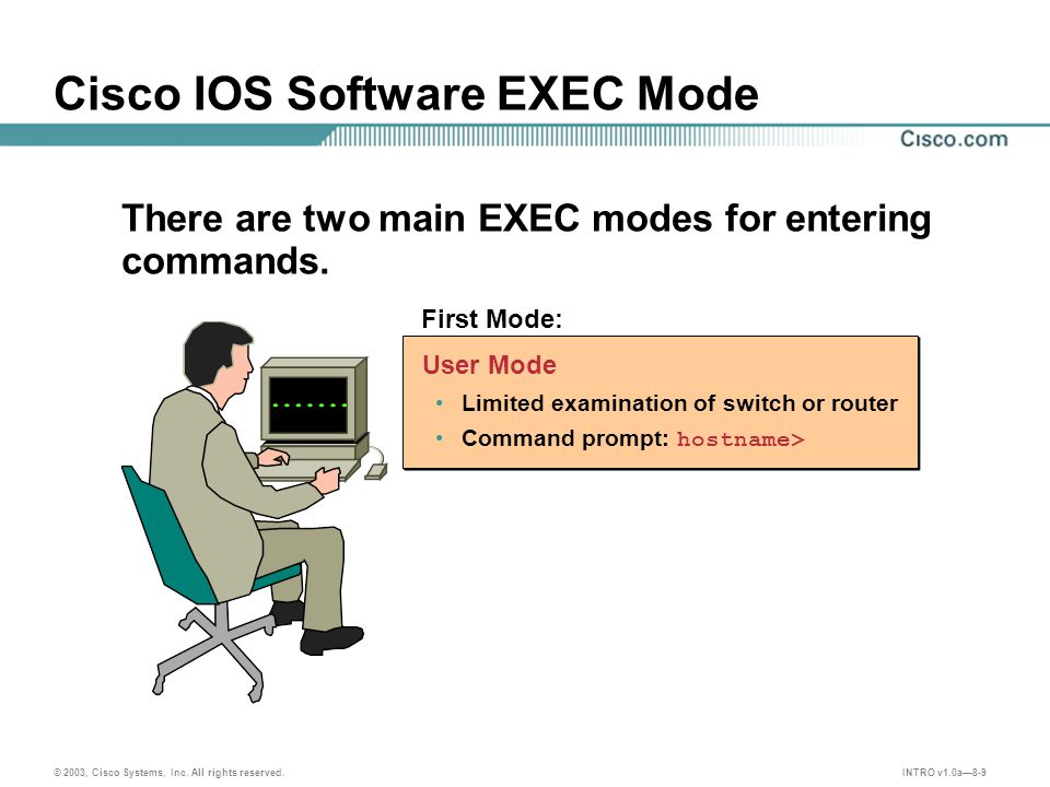 INTRO v1.0a8-10 © 2003, Cisco Systems, Inc.All rights reserved.